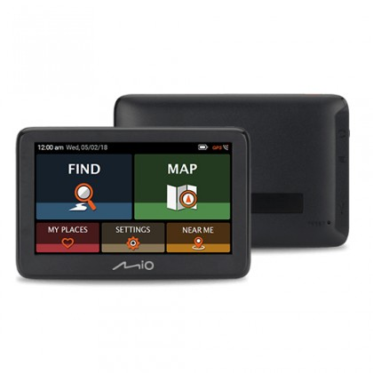 "Auto navigácia GPS Navigácia Mio Pilot 15 LM 5"", speedcam, 45 krajín, LM"