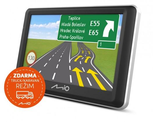 """Auto navigácia GPS Navigácia Mio Spirit 7800, 5"""" doživotná aktualizácia"""