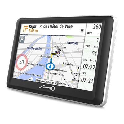 """Auto navigácia GPS Navigácia Mio Spirit 7800 5"""", speedcam, 45 krajín, LM"""