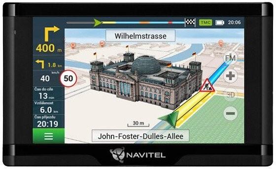 """Auto navigácia GPS Navigácia Navitel E500 5"""", Truck, speedcam, 47 krajín, LM"""