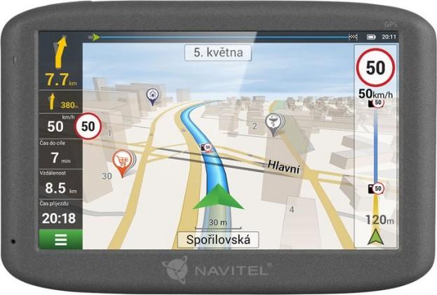 """Auto navigácia GPS Navigácia Navitel F300 5"""", Truck, speedcam, 47 krajín, LM"""