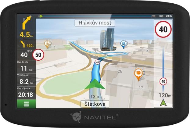 """Auto navigácia GPS Navigácia Navitel MS400, 5"""" doživotná aktualizácia"""