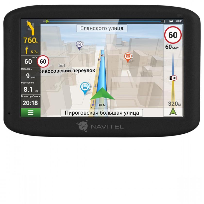 """Auto navigácia GPS Navigácia Navitel MS400 5"""", Truck, speedcam, 12 krajín, LM"""