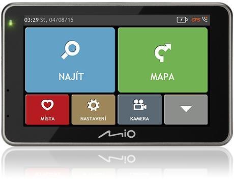 Auto navigácia Mio Combo 5207 FULL EUROPE LM plus 8GB SD card ROZBALENÉ
