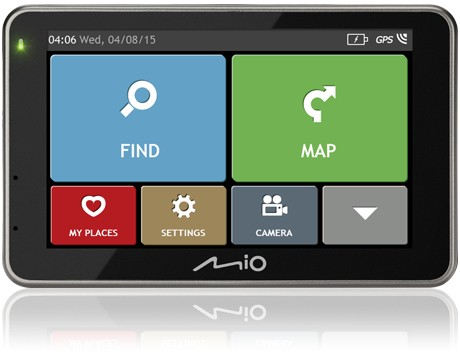 Auto navigácia Mio combo 5207 FULL EUROPE TRUCK LM plus 8GB SD card
