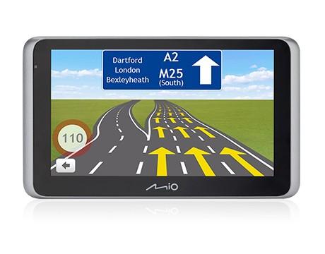 Auto navigácia MIO MiVue Drive 65LM Truck/Karavan, kamera, Lifetime mapy EU