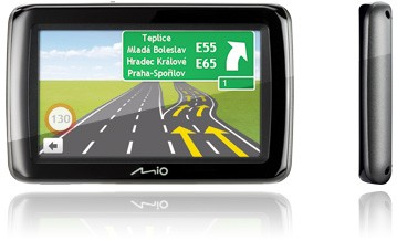 "Auto navigácia  Mio Spirit 485c GPS navigace, LCD 4,3"", TMC, mapy CEU (7)"