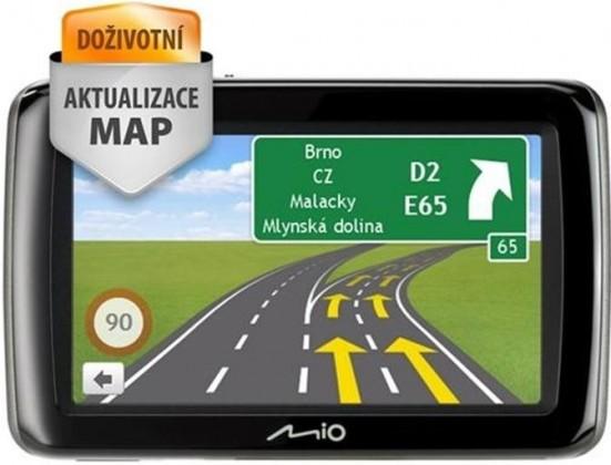 Auto navigácia MIO Spirit 487 Full Europe Lifetime ROZBALENO