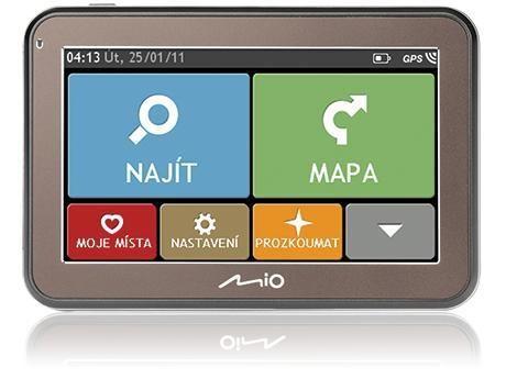 Auto navigácia MIO Spirit 5400 Lifetime CZ / SK (PNAMO1661) ROZBALENÉ