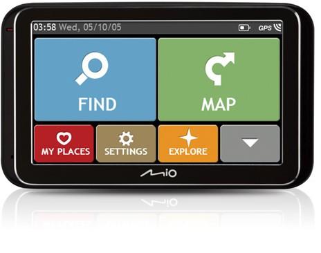 """Auto navigácia MIO Spirit 6900u GPS navigace, LCD 5"""", mapy EU (44) Lifetime"""