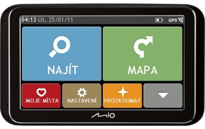 """Auto navigácia MIO Spirit 6900u GPS navigácia, LCD 5"""", mapy EU (44) Lifetime"""