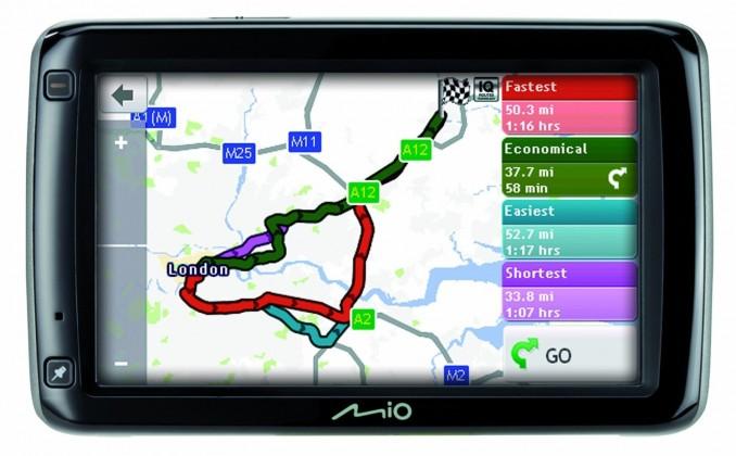 Auto navigácia MIO Spirit 697 Full Europe Lifetime