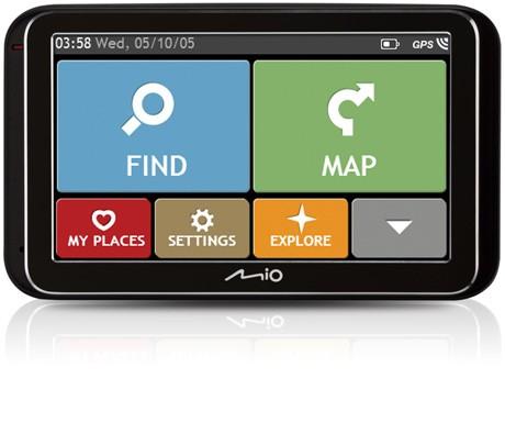 Auto navigácia MIO Spirit 6970u GPS, 5'', EU LIFETIME