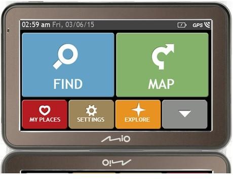 Auto navigácia Mio Spirit 7670 Evropa