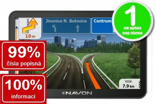 Auto navigácia  Navon N670