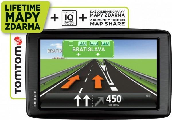 Auto navigácia TomTom Start 25 Regional Lifetime ROZBALENO
