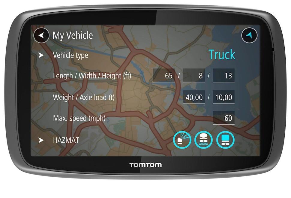 Auto navigácia TomTom TRUCKER 5000 Lifetime mapy