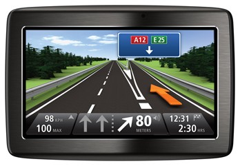 Auto navigácia  TomTom Via 125 Europe Traffic + 2 roky aktualizace map