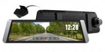 Autokamera Cel-Tec M10 GPS Premium, zrkadielko + zadná kamera