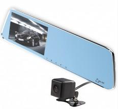 Autokamera Cel-Tec M6 DUAL, zrkadielko + zadná kamera