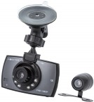 Autokamera Forever VR-200, Full HD, záber 140° + zadná kamera