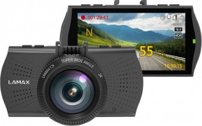 Autokamera Lamax C9, 2K, záber 150°, GPS, WDR, LDWS