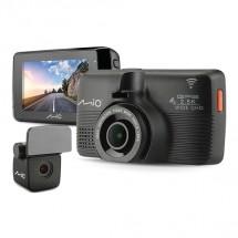 Autokamera Mio MiVue 798 + zadná kam. GPS, WiFi, 2,5K, 150°
