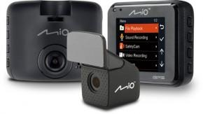 Autokamera Mio MiVue C380 DUAL, predná + zadná kamera