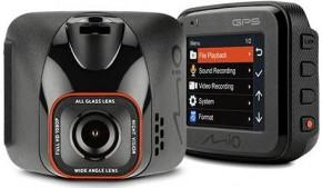 Autokamera Mio MiVue C570, FullHD, GPS, záber 150°, WDR