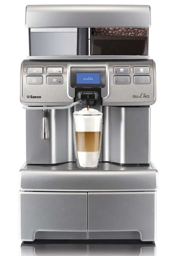 Automatické espressá Automatické espresso Saeco Aulika HSC RI + stojan