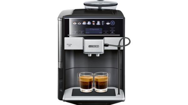 Automatické espressá Automatické espresso Siemens TE655319RW POUŽITÉ, NEOPOTREBOVANÝ