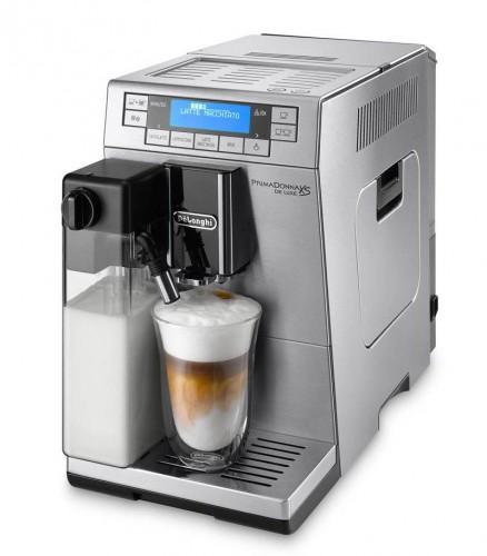 Automatické espresso DéLonghi ETAM36.365 PrimaDonna XS DeLuxe + Káva DeLonghi Kimbo Classic 1 kg zrnková (zdarma)