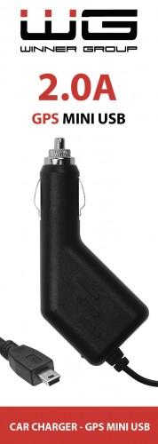 Autonabíjačka WG s Mini USB, 2A, pevná