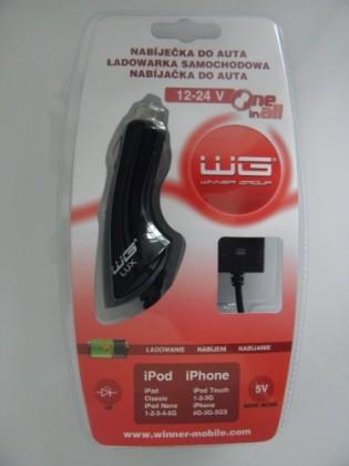 Autonabíjačky (12V) Winner autonabíjačka iPhone