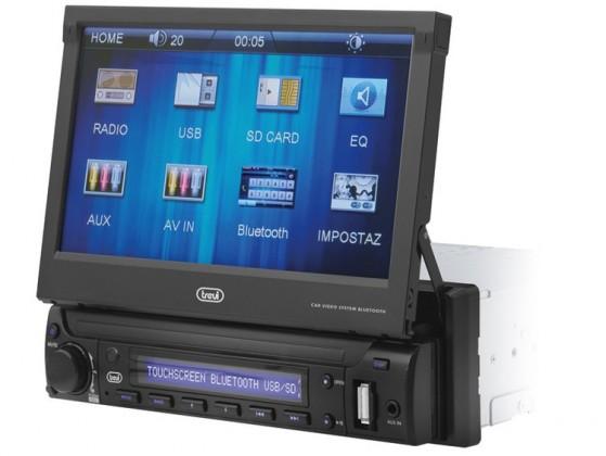Autorádio Trevi MDV 6350BT Autorádio s dotykovým LCD displejom