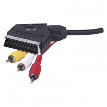 AV kábel Emos SB2101, 3xscart / cinch, 1,5m