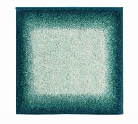 Avalon - Kúpeľňová predložka malá 50x60 cm (tyrkysová-čierna)