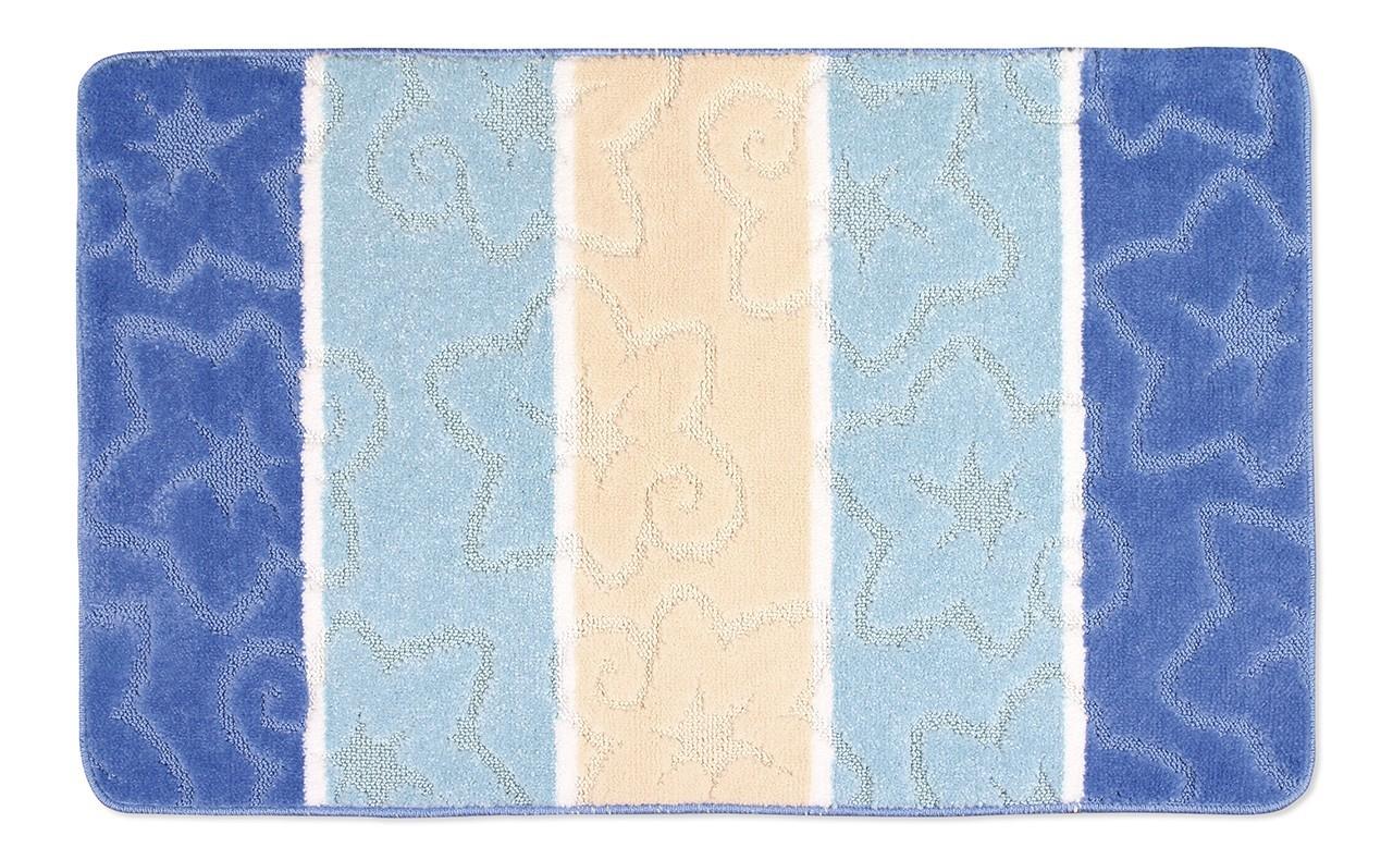 Avangard - Kúpeľňová predložka 60x100 (modrý orion)
