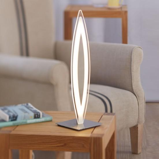Avignon - Lampička, LED (matný nikel)