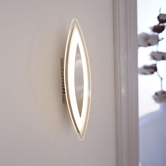 Avignon - Nástenné svietidlo, LED (matný nikel)
