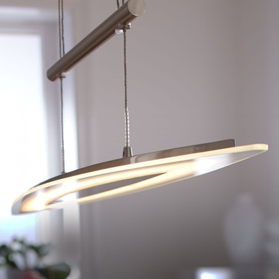 Avignon - Stropné osvetlenie, LED (matný nikel)