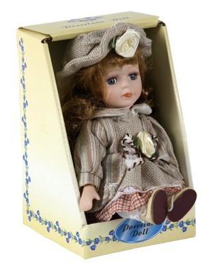 Bábika s porcelánovou hlavičkou