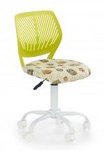 BALI - dětská stolička, sovy zelená, regulacia výšky sedáku