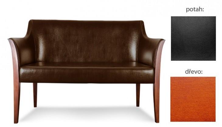 Bari 2 (extra leather black sk. III / drevo č. 3)