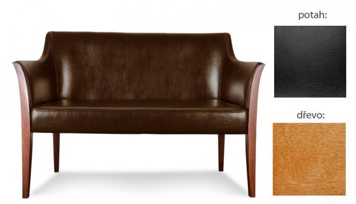 Bari 2 (extra leather black sk. III / drevo č. 4)