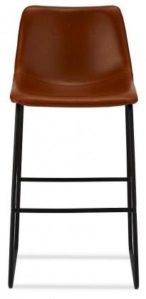 Barová stolička Barová stolička Guaro hnedá, čierna