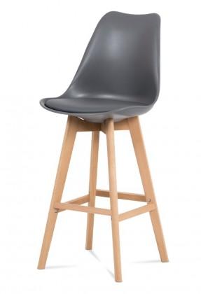 Barová stolička Barová stolička Lina (sivá)