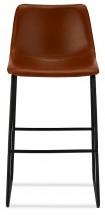 Barová stolička Guaro hnedá, čierna
