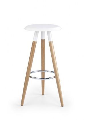 Barová stolička H-50 (jelša,biela)
