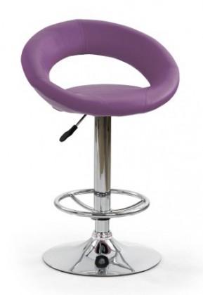 Barová stolička H15 - Barová židle, fialová